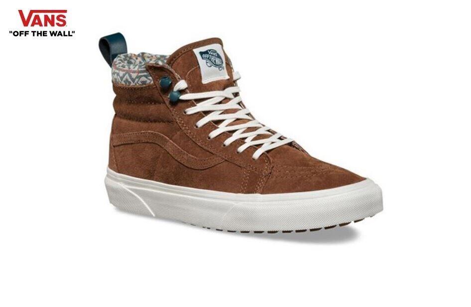 Vans Vans Sk8-Hi (MTE) monc SROBE-blanc Baskets, chaussures femme VN-33TXLZK