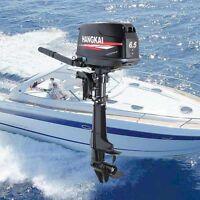 6.5hp 4 Stroke Outboard Motor Tiller Boat Engine Short Shaft Water Cooling