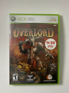 Overlord-Microsoft-Xbox-360-2007-BRAND-NEW-SEALED