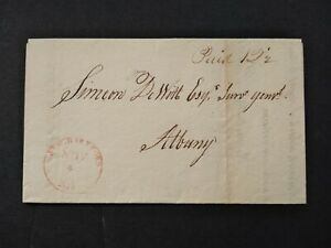 New York: New Hartford 1926 Stampless Cover to Surveyor-General in Albany, NY