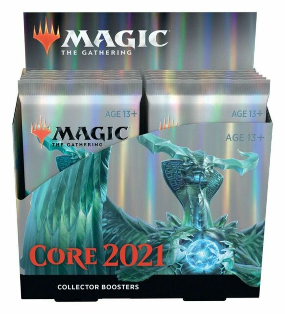 MTG Core Set 2021 COLLECTOR BOOSTER BOX Factory Sealed NEW Mint Fast Ship