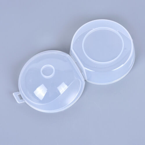 2Pcs New Baby Infant Soother Holder Pacifier Dummy Box Travel Storage Case Gi G1