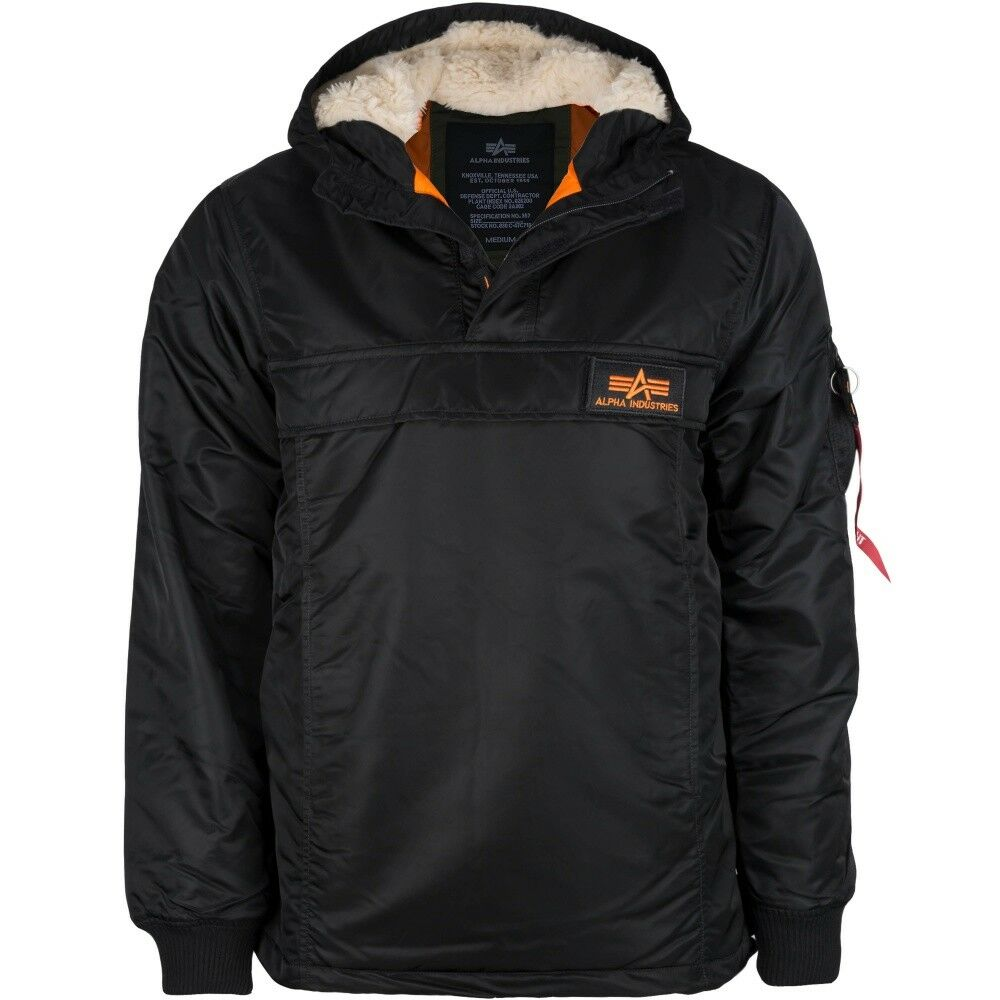 Alpha Industries Parka Explorer Parka Industries Nero 4fea82 ... 86497fa7fd4f