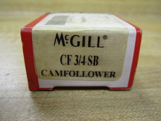 "MCGILL CF 3//4 SB CAM FOLLOWER BEARING CF3//4SB 3//4/"" OD USA"