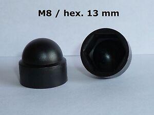 cache-/écrous M14 50 pcs pour la cl/é 22 blanc Cache-vis Bouche-trou Bouchons de tuyau