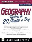 Geography Review in 20 Minutes a Day by Learning Express Llc (Paperback, 2012)