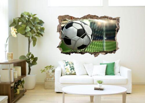 Fussball Tor Ball Stadion Wandtattoo Wandsticker Wandaufkleber D0412