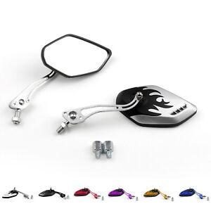 Motorcycle-Mirrors-Retrovisor-8mm-10mm-Para-Honda-Suzuki-Kawasaki-KTM-BMW-ES