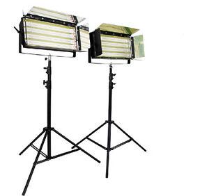 2sets Lumière Bank455 Lumière Fluorescente De Banque Avec Miroir Finition Osram