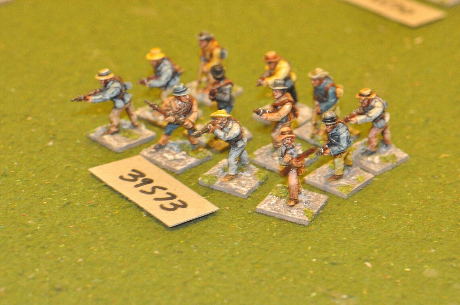 25mm coloniale   boer - smontato 12 cifra - inf (39573)