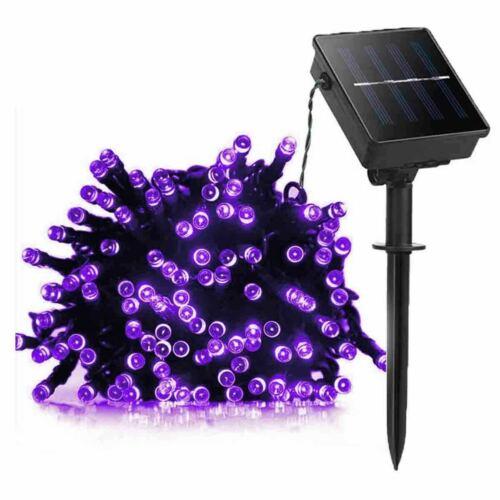100 LED Solar Power String Lights Christmas Fairy String Garden Outdoor indoor H