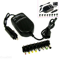 80W Universal Car Charger Auto DC Power Adapter Supply For Notebook Laptop PC OK