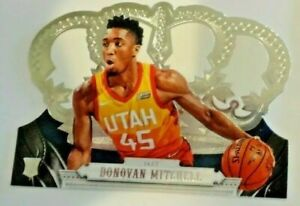 2017-18-PANINI-CROWN-ROYALE-DONOVAN-MITCHELL-ROOKIE-CARD-RC-JAZZ-DIE-CUT