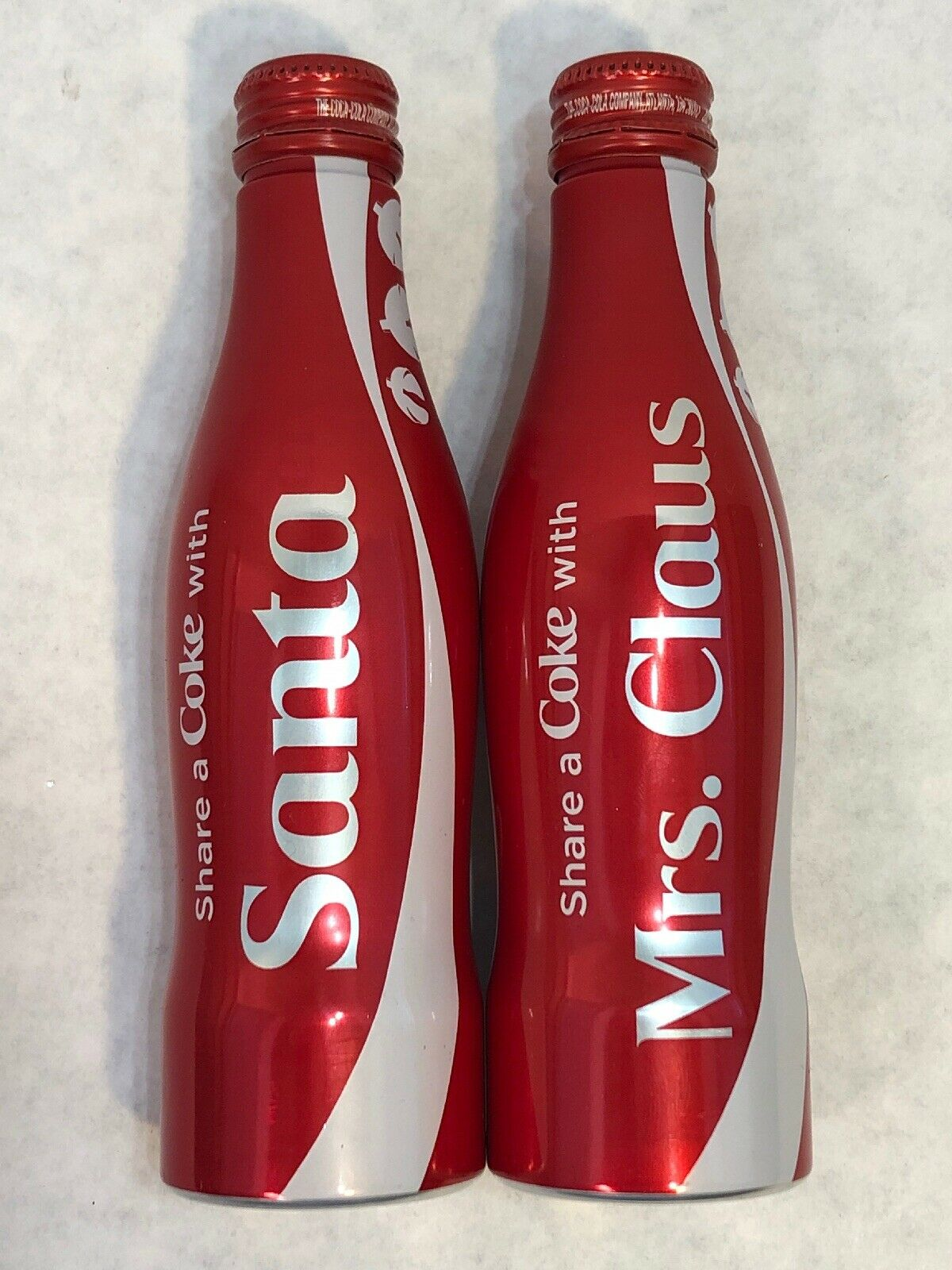 Coca-Cola Metallic Red Bottle Share a Coke with Your Love Valentine/'s Day
