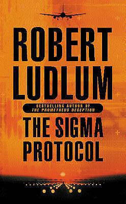 """AS NEW"" Ludlum, Robert, The Sigma Protocol, Paperback Book"