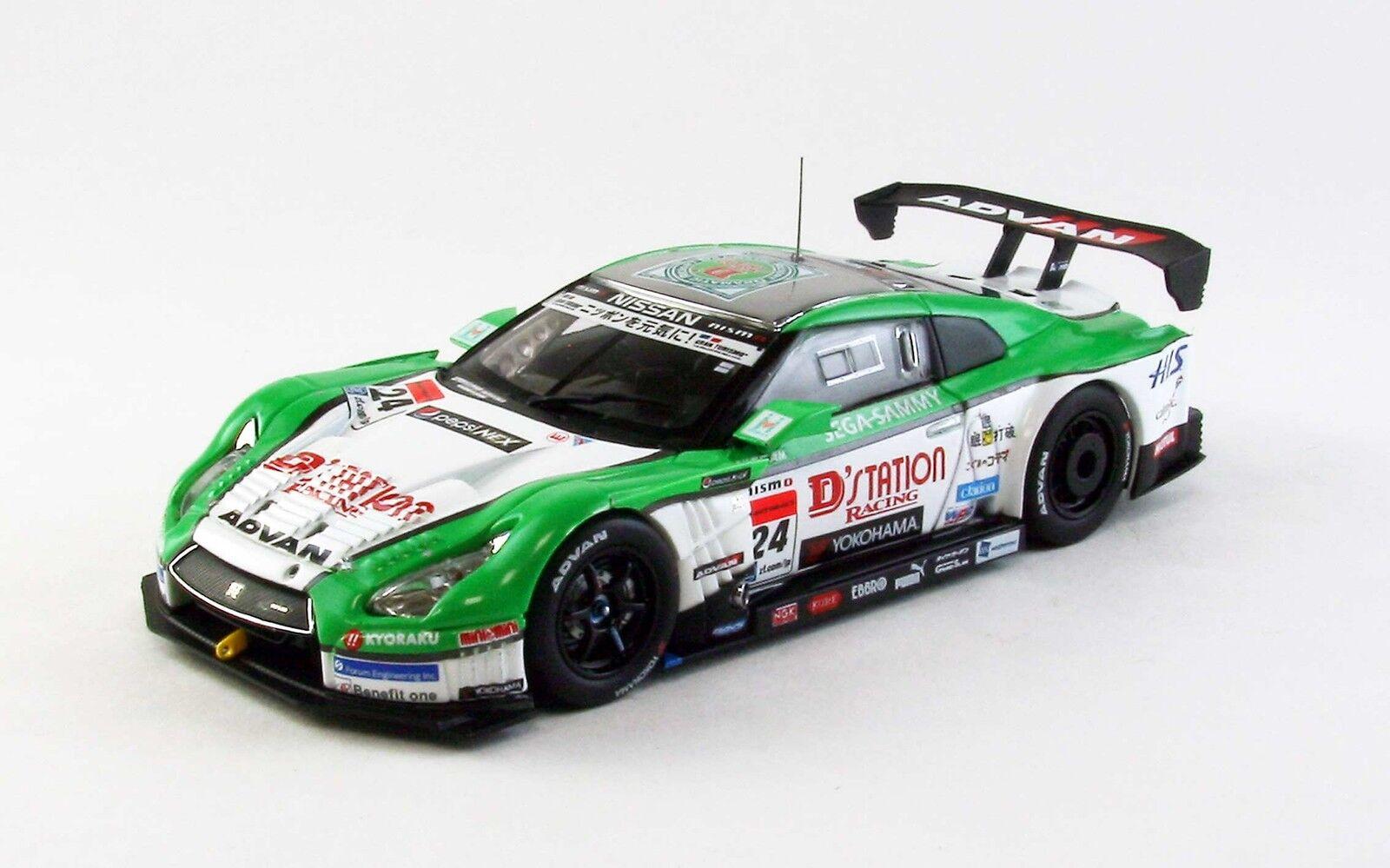 supporto al dettaglio all'ingrosso EBBRO 44913 1 43 Nissan D'station ADVAN ADVAN ADVAN GT-R super GT500 2013  24 bianca verde  trova il tuo preferito qui