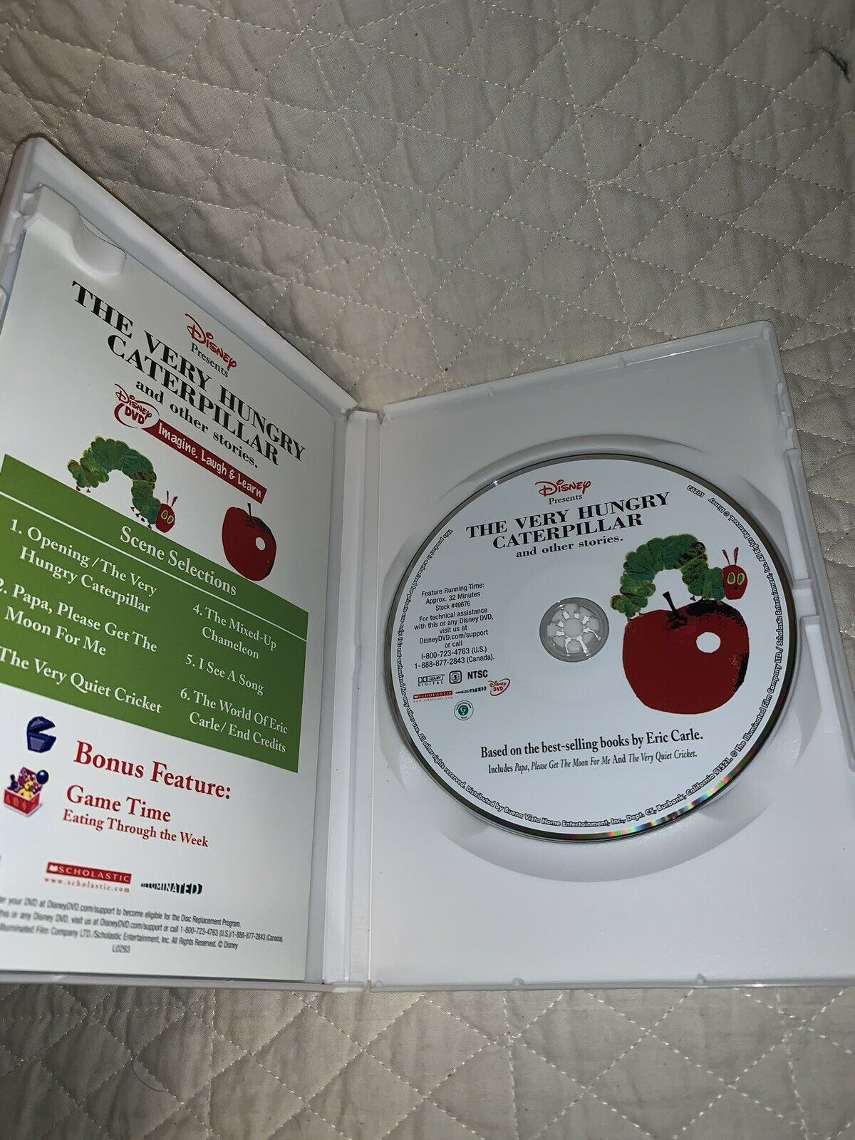 The Very Hungry Caterpillar and Other Stories (DVD, 2006)