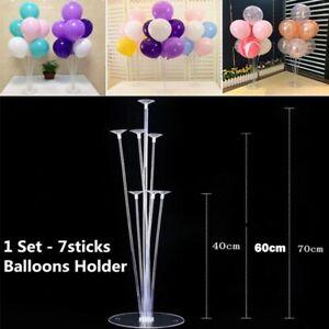 Clear Balloons Column Base Ballon Ständer Halter Geburtstag Party Hochzeit Deko