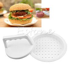 Best Plastic Burger Press Hamburger Meat Beef Grill Cooking Maker Kitchen Mold