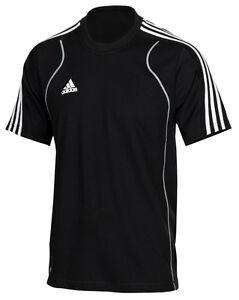 adidas-Sport-T-Shirt-Herren-schwarz-Maenner-Laufshirt-Freizeitshirt-Gr-XS