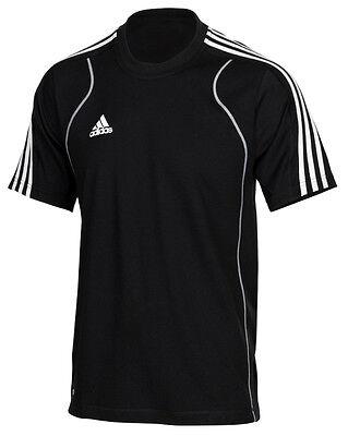 adidas Sport T-Shirt Herren schwarz, Männer Laufshirt Freizeitshirt Gr.XS