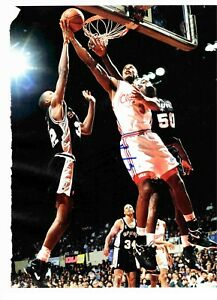 Ken Norman Signed Auto Magazine Photo Page Los Angeles Clippers