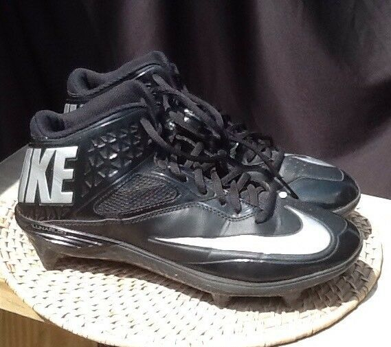NIKE CODE PRO 9 MEN BLACK GRAY FOOTBALL SPORT ATHLETIC CLEATS SHOE BOY YOUTH  Great discount