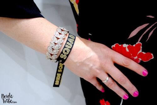 Bachelorette Party Bracelets Bride Tribe BRIDE SQUAD Hen Party Wristbands