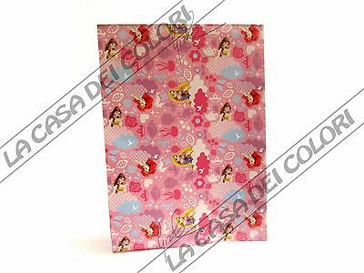 Carta Da Regalo Natalizia - Principesse Disney - 70x100cm - 1 Foglio Siempre Compra Bien