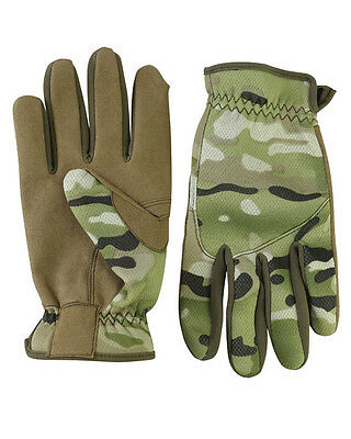 OLIVE GREEN SHOOTING ARMY STYLE NEOPRENE /& SUEDE DELTA FAST GLOVES AIRSOFT