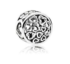 Authentic Pandora Sterling Silver Loving Sentiments Charm Bead 791980