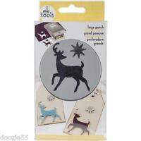 Ek Success-ek Tools Large Slim Punch Elegant Deer 1 5/8 X 2 54-30245