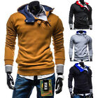 NEW Men's Casual Fashion Slim Fit Sexy Top Designed Hoodies Jackets Coats Tops 7