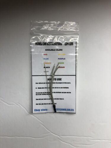 Model Car Distributor Red 9 Wires 1//24 1//25 V8