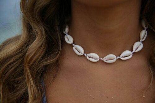 Collar De Conchas Gargantilla De Conchas De Mar Collares De Moda Buena Calidad