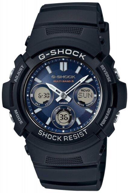 CASIO wristwatch G-SHOCK radio solar AWG-M100SB-2A Men's ,NEW,From Japan