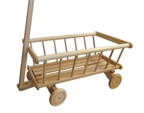 BOIS TIRE BANDE-ANNONCE pour jouets,all terrain wagon chariot,rétro flyer wagen,