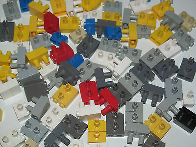 Lego ® Lot x2 Plaque Supports Bracket 2X2X2//3 Choose Color ref 99206 NEW