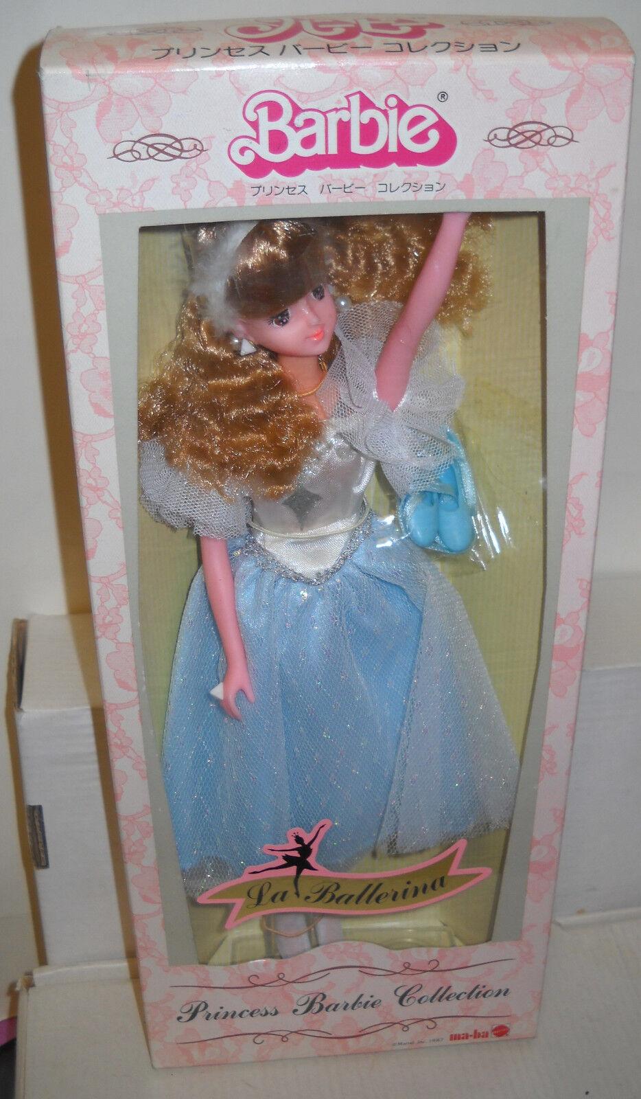 Nrfb ma Ba Japón la Ballerina Princess Barbie Colección exterior cuestión