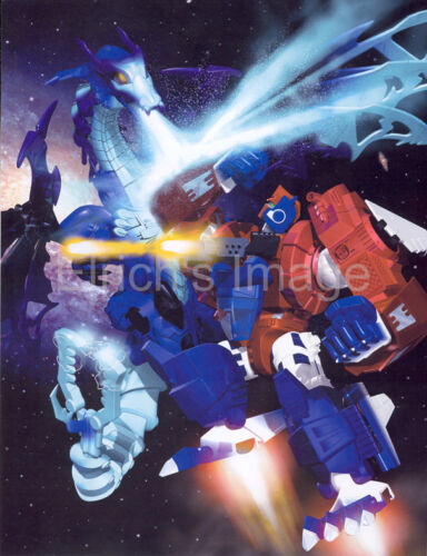 Cryotek /& Primal Prime BotCon 2002 Art Print