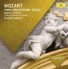 Mozart Piano Concertos Nos. 20 & 21 by Rudolf Serkin