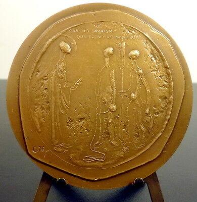 """Gehoorzaam Médaille La Bible Nouveau Testament """"car Ils Savaient Que C'était Le Seigneur """" Laatste Mode"""