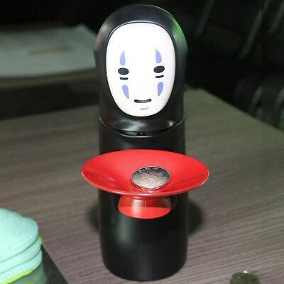 Coin Bank Spirited Away No-Face Man Kaonashi Music Piggy Bank Figure Anime Cool