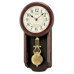 Seiko Analogue Pendulum Wall Clock Westminster