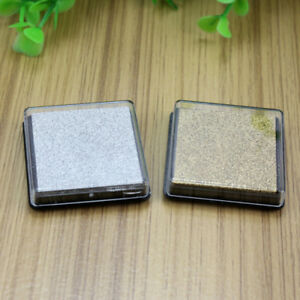 New-2Pcs-DIY-Inkpad-Sponge-Mini-Cube-Ink-Pad-Craft-Fabric-Stamp-Wood-Scrapbook