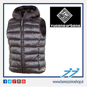 GILET-TUCANO-URBANO-HOT-DOG-8853-N-UOMO-NERO-TG-XL