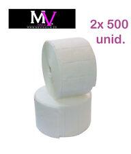 2x rotolo 500 Unità da cellulosa completa 1000 Unità,Acrilica unghie NDED