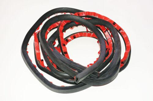 Rubber Hollow Tube 3M Seal Gasket For HD Harley Davidson Hard Saddlebag Lid