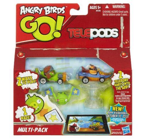 ANGRY BIRDS GO TELEPODS MULTI-PACK MOSTACHE PIGS /& EXL ORANGE BIRD NEW IN BOX!