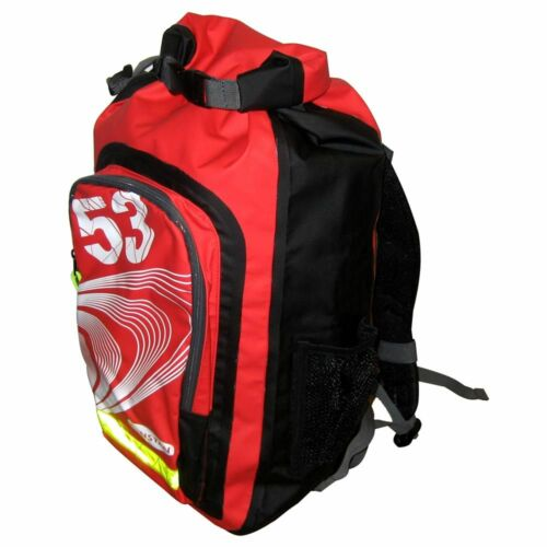 Black//Red Ronstan 26L Roll-Top Dry BackPack